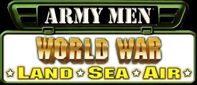 Army Men: World War - Land, Sea, Air