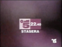Canale 5 - white and purple 1994