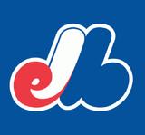 Montreal Expos cap insignia (1992-2004)