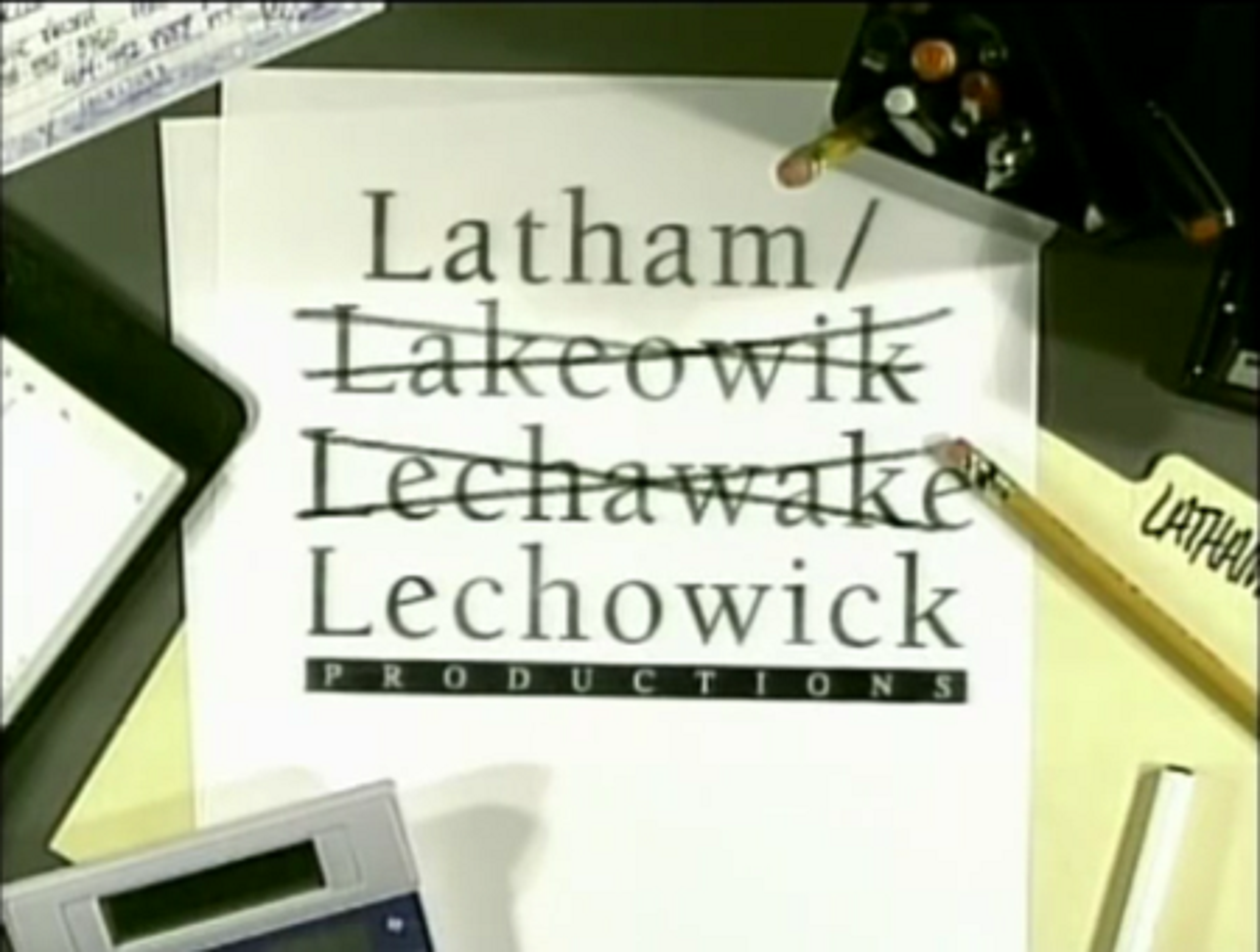 Latham/Lechowick Productions