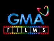 GMA Films (2011-2014) on black BG