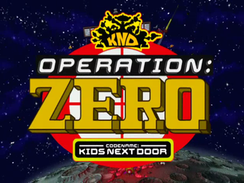 Codename: Kids Next Door: Operation: Z.E.R.O.