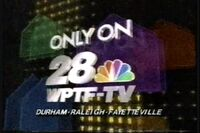 WPTF-TV 28 Come Home To The Best 1988-89