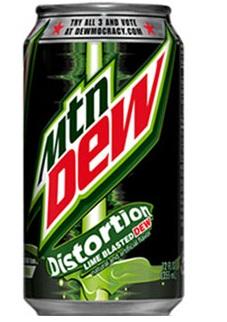 Mountain Dew Distortion