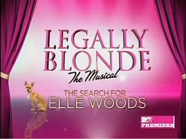 Legally Blonde - The Musical: The Search for Elle Woods