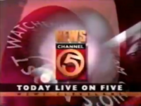 WEWS NewsChannel 5 1996 Today Live On Five
