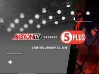 AksyonTV Because 5Plus (Test Card)