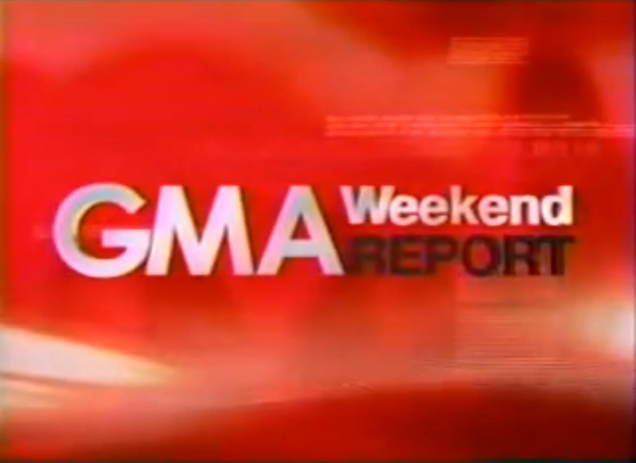 GMA Weekend Report
