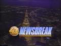 WUAB 43 Newsbreak 1990