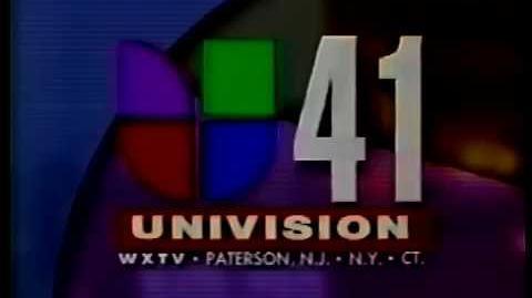 WXTV (Univision) 'Noticias 41 A las Once' 1996 Intro