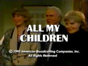 ''All My Children'' Video Close From January 6, 1995