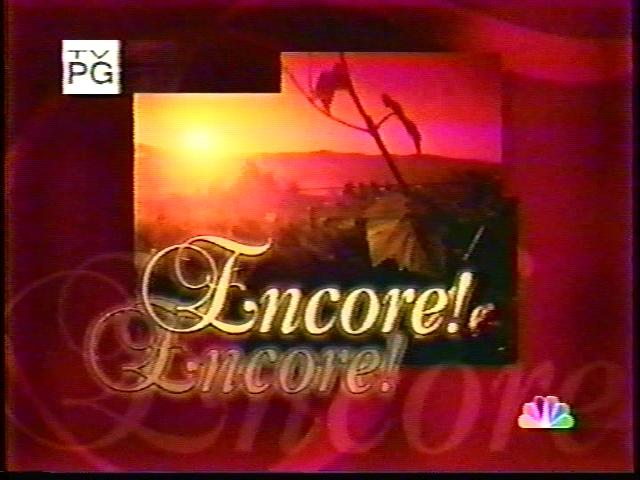 Encore! Encore!
