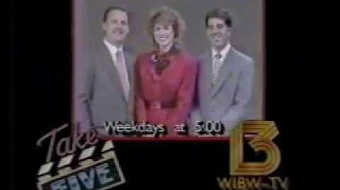 WIBW Station ID Take 5 Promo (1990)