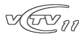 VCTV11 logo (2008-11) remake by TN Archive.png