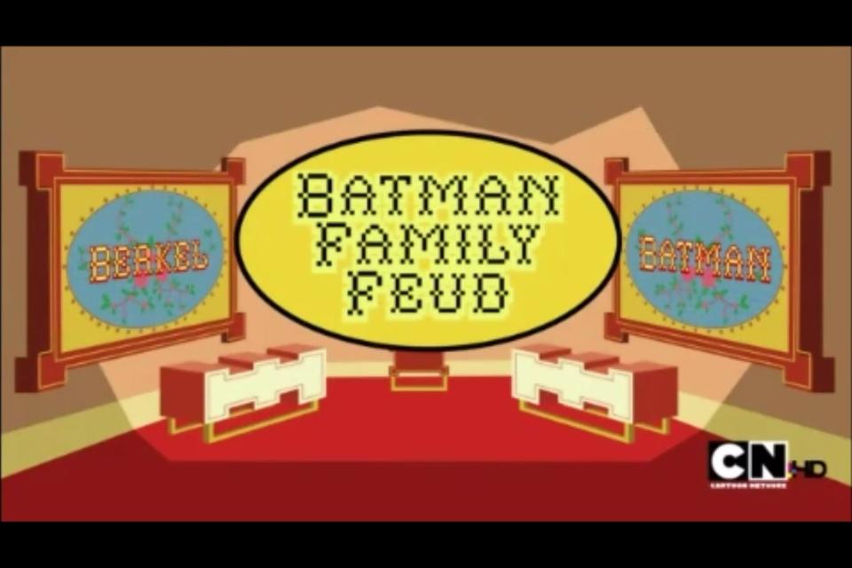 Batman Family Feud