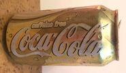 Caffeine free coke original can design