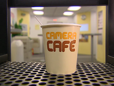 Camera Café bicchiere