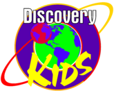 Discovery Kids logo (Purple)