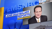 Jose diaz-balart reports logo, as seen on-air