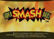 Super Smash Bros (1999) title