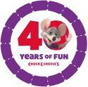 ChuckECheese's40thAnniversaryLogo