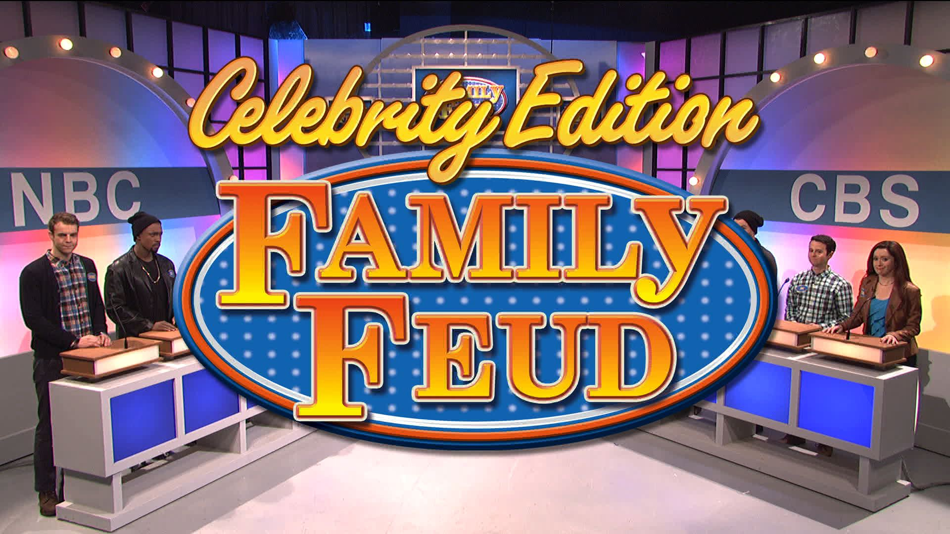 Celebrity Edition Family Feud