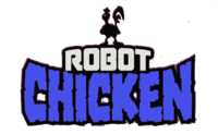 Robot Chicken, blue
