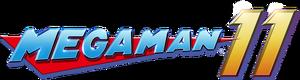 550px-Logo Mega Man 11.png