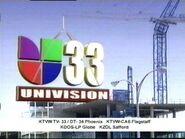 Univision 33 Ident 2007
