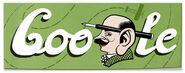 Google Eduard Slavoljub Penkala's 141st Birthday