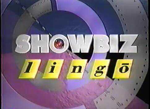 Showbiz Lingo
