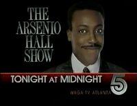WAGA-TV Arsenio Hall Show promo 1989