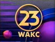 WAKC-TV 23 America's Watching 1991