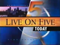 WEWS Live On Five Today Logo 1998