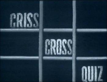 Criss Cross Quiz