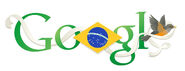 Google Brazil Independence Day 2013