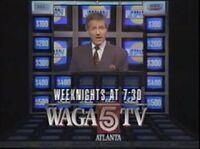 WAGA-TV Jeopardy promo 1990