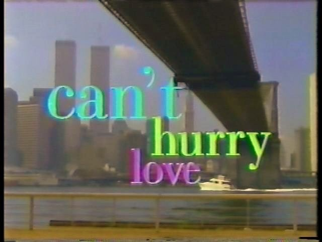 Can't Hurry Love