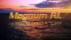 Magnum PI (reboot) titlecard