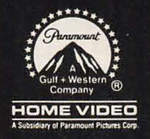 Paramount Home Video 1986