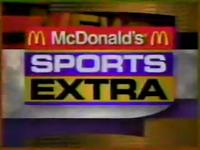 WUAB 43 McDonald's Sports Extra 1995