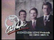 1991 Feb 9 KIII TV 3 Corpus Eyewitness News 24 Hours Promo 1