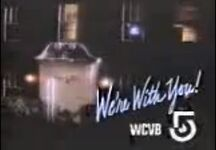WCVB-TV 5 We're With You promo 1984