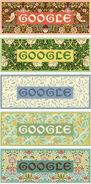 Google William Morris' 182nd birthday (Storyboards)