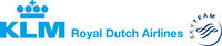 KLM Royal Dutch Airlines with SkyTeam Logo (Old)