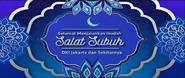Bumper Indosiar Selamat Menunaikan Ibadah Sholat Subuh 2020