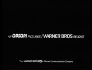 Orion Pictures/Closing Variants