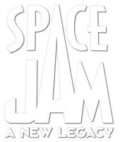 Space Jam A New Legacy print logo without rings