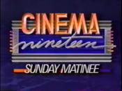 WOIO Cinema Nineteen Sunday Matinee