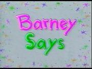 Barney Says Logo (Season 2).jpg